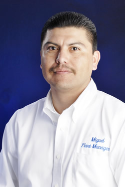 Miguel Munoz Plant Manager